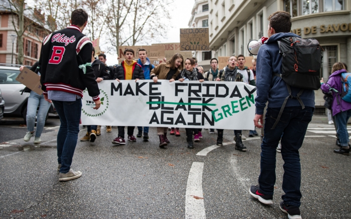 "banderole de tête ""make friday green again"""