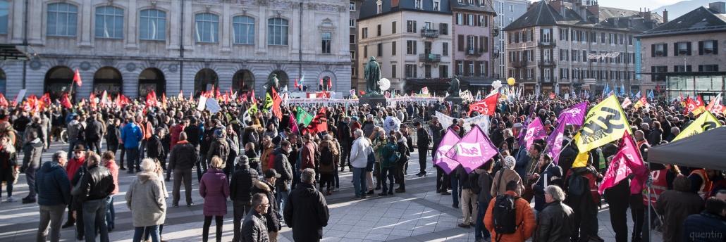 population de la manifestation