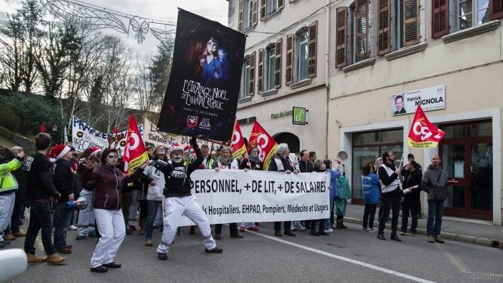manifestation en procession