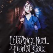 """pancarte national """"l'étrange noël de l'hopital public"""""""
