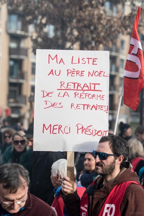 """pancarte """"liste au père noël"""""""