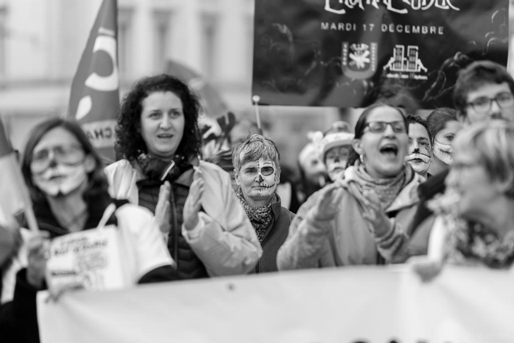 manifestant.es de l'hopital