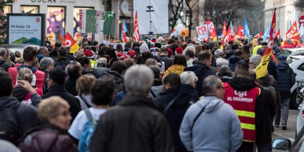 foule de la manifestation