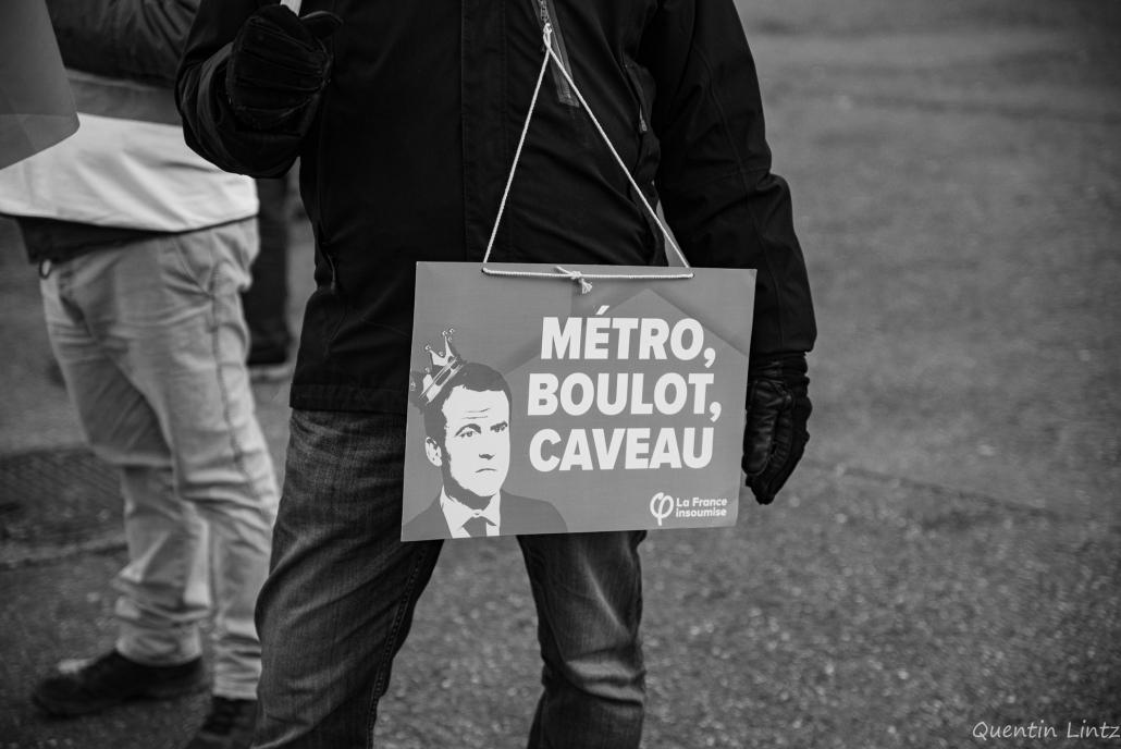 """pancarte """"métro boulo caveau"""