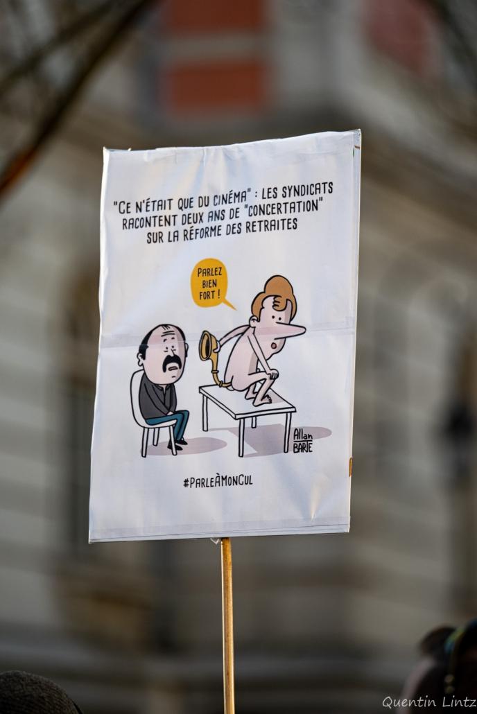 pancarte de alan barte