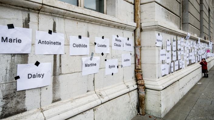 longue liste de femmes tuées en 2019 au 23 novembre 2019