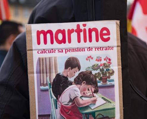 "pancarte ""martine calcul"""
