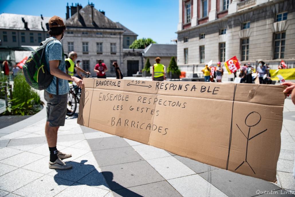 pancarte militante