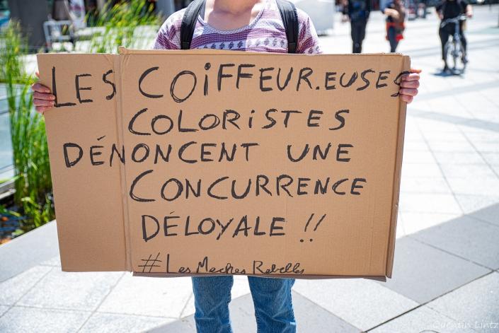 """pancarte """"coiffeurs"""""""