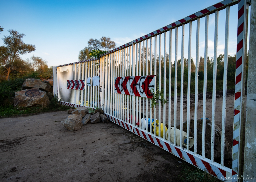 portail d'entrée du site